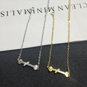 S925 sterling silver bone bracelet head jewelry gift LBL04