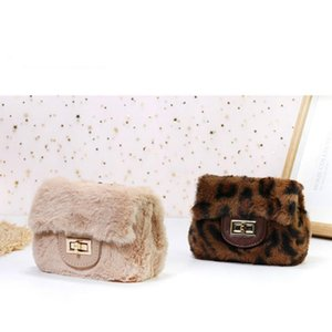 Kids Mini Clutch Purse 2020 Cute Plush Crossbody Bags for Women Small Coin Pouch Girls Wallet Pures and Bags Gift