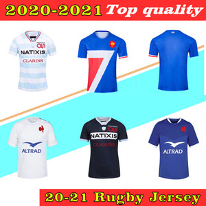 2020 Francia Rugby World Cup Jerseys 2021 Francia Camicie da rugby Maillot deleva Camicia da rugby francese Boln