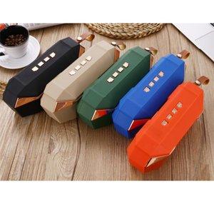F52 Mini wireless Bluetooth Speaker TF Card Outdoor USB Super Bass Box Home Theater a buon mercato Radio Altoparlante altoparlante