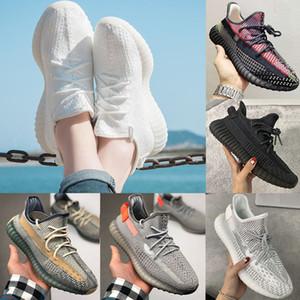 Adidas Yeezy 350 V2 Running shoes Static Reflective Kanye west Beluga 2.0 kutusuz ayakkabıların susam ezmesi siyah beyaz breds oreos spor ayakkabı boyutu 36-47 Koşu