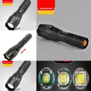 WnL TWS Waterproof flashlight headset Hiking stereo Bluetooth Camping binaural in-ear LED outdoor sports lead strobe flashlight wireless tou