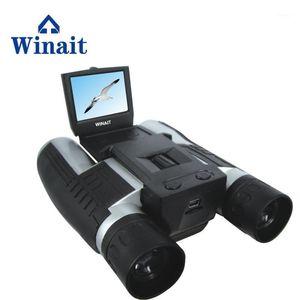 Wondit Full HD 1080P كاميرا فيديو مجهر رقمي مع 2.0 بوصة شاشة TFT / Lechargeable Lithium Telescope Camera1