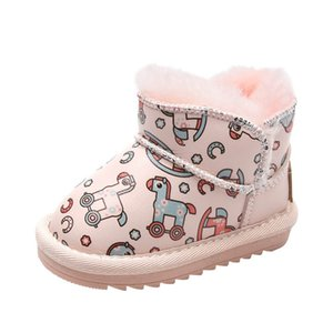 Winter baby boots Cartoon toddler boots baby shoes toddler shoes infant shoes baby snow boots girls ankle boot retail B2899