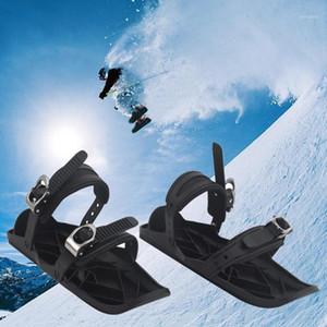 2020 Ski de plein air Mini Slock Sked Boots Ski Bottes de ski Combinez des patins avec SKIS G21