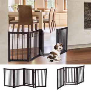 """30 """"لوحة خشبية قابلة للطي داخلي كلب بوابة قائما بذاته سلامة السياج ث / باب"""