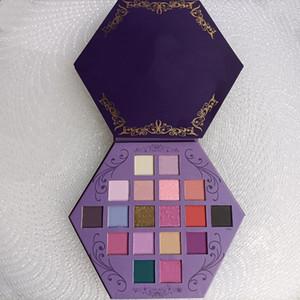 Star Eye Maquillage Pauvre Palette Palette Sang Ombre à paupières du sang 18 Couleurs Purple Artistique Eau Shadows Palette
