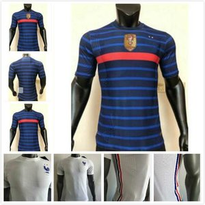 Player version Thai quality 2020 France jersey home away MBAPPE 20 21 GRIEZMANN soccer jerseys POGBA Football shirts PAVARD KANTE