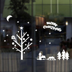 Christmas Decoration Decal Window Stickers Sitting Room Bedroom Wall Stickers On The Wall Household Adornment