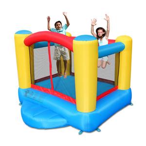 Suprimento de jardim Supplie Iniciante Inflável Castelo Bouncy Pequeno Jumping Casa de Jumper Cama Pessoal Bounce Casas com ventilador de ar Indoor Play Divertimento no quintal dos jardins