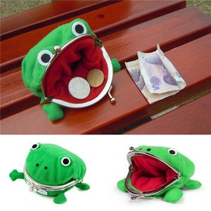 Frog Coin Purses Cartoon Wallet Pouch Anime Manga Shape Fluff Clutch Cosplay Cute Wallet purse Naruto Coin Holder Girls Gift