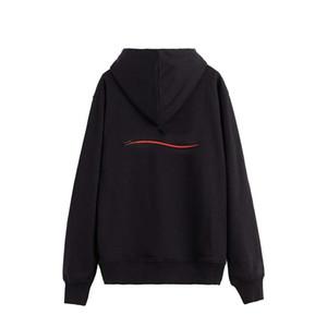 Plus Cashmere Mantel Sweatshirts Männer Frauen Pullover Hoodie Langarm Pullover Hoodies Streetwear Mode Sweatershirt Kostenloser Versand