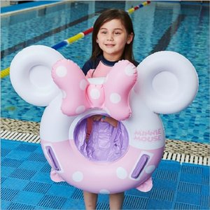 new riding swimming ring Inflatable children's life buoy on the water Infant seat ring 200928