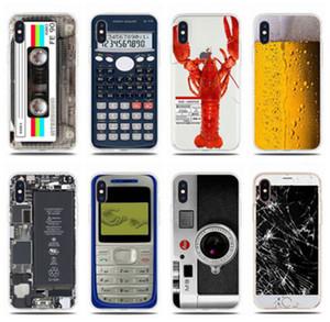 مضحك خمر كاسيت الشريط الرجعية نمط ل iphone se 6 6 ثانية 7 8 زائد x xr xs 11 12 برو ماكس 12 مصغرة لينة سيليكون الهاتف حالة غطاء قذيفة