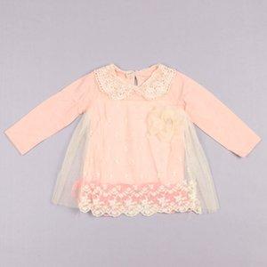 Clearance sale sweet baby girl dress lace flower kids dress long sleeve girls dresses princess dress baby girl clothes Z120