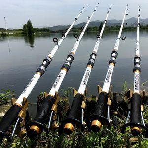 شحن مجاني الصيد رود الغزل يطير الكارب الطاعم ألياف الكربون pesca الكارب الصيد رود المغذية الصلب frp ألياف الكربون الألياف تلسكوبي الصيد القطب