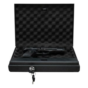 New Steel Electronic Safe Box Passwords Keypad Lock Home Office Gun Black US
