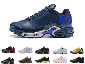 2019 Airs TN Max Running shoes Plus zapatos al aire libre Tn Mens VM In Mercurial Maxes Plus Tn Calzado deportivo Uva Volt Hyper White Negro Zapatillas de deporte Trainer