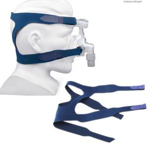1 PCS Máscaras Profissionais Substituição Universal Band Band Conforto Adequado para Philps Respironics Ventilator Mask Blue