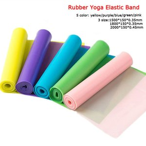 150 180 200CM Fitness Exercise Resistance Bands Set Rubber Yoga Elastic Band Resistance Band Loop Rubber Loops For Gym Training