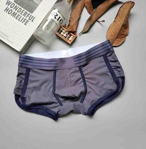 Mens Underwear Fashion Low-waist Breathable Boxer Shorts Fit Not Tight Comfortable Fashion Cotton Underwears Men Casual Underpants