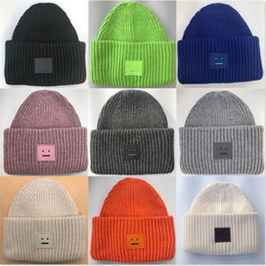 2020 New Acne Studios Unisex Women's Autumn and Winter Double Layer Skulie Wool Warm Knitted Hat