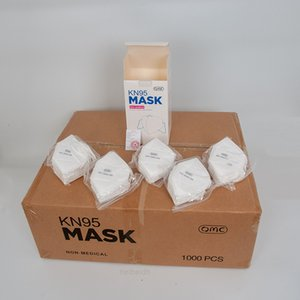 2~5days Wholesale OMC free ship 50PC Box N95 Facemasks FFP2 BFE >95 Face Masks with wes
