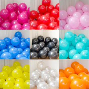 30PCS lot 10inch 12'' mix Colorful Pearl Gold White Latex Balloon Celebration Wedding Decorations Happy Birthday Party Supplies