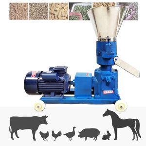 4kw 60-80kg / h alimentação multifuncional e alimento máquina de peletização KL-125 máquina de granulador de frango alimentação de frango