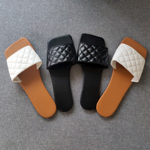 White Sewing slippers for womens Sexy Peep Open Toe Flat sandals Woman Outdoor casual Slides shoes Ladies Female summer 2020 Q1124
