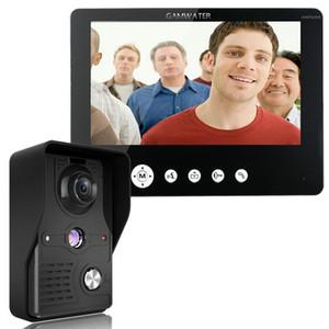 9 Inch Video Door Phone Doorbell Intercom Kit 1-camera 1-monitor Night Vision1