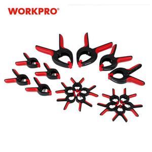 Professional Hand Tool Sets WORKPRO 18PC Woodworking Tools Wood Jig Heavy Duty Clamps Set Hard Plastic Spring