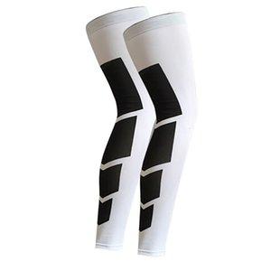긴 야외 스포츠 사이클링 다리 슬리브 무릎 보호대 기어 충돌 방지 앤슬리스 슬립 legwarmers
