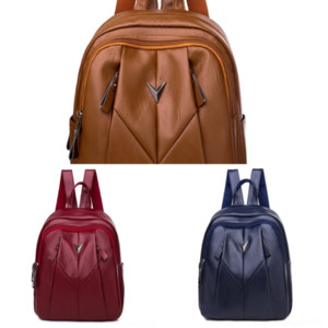 4eE Preppy Style Canvas Backpack student bag for Teenagers Travel School Rucksack Avocado Knapsacks Bag student laptop bag Mountaineering ba