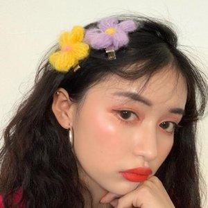 Haarklammern Barrettes Mode koreanische Mädchen süße Tuch Blumen Pin für Frauen Frühling Haarnadeln Damenzubehör1