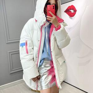 Cheap Loose Coat Long Parka Women 2020 Winter White Duck Jacket Female Parkas Hooded Thicken Warm Snow Down Outwear