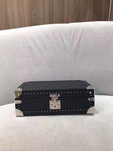 Bavul Güzellik Kutusu Takı Duffel Çanta Kahverengi Çiçek Mo. Sert Taraflı 8 Watch Case veya Pamuk Çanta, Müşteri Ürün Ufuk Tasarımı