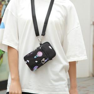 2020 Moda Açık Küçük Telefon Para Kart Oxford Çanta Kemer Bel Çantası Rahat Paketi Su Geçirmez İşlevli Arm Paketi