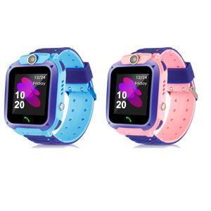 Q12 Children's Smart Watch SOS Phone Watch Smartwatch LBS Location for Kids with Sim Card Photo Waterproof IP67 Kids Gift