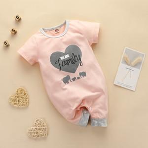 Baby Girl Romper Summer Baby Romper Jumpsuit Short Sleeve Girl Jumpsuit One Piece Baby Girl Jumpsuit J1203