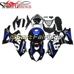 Full Fairings For GSXR1000 2007 2008 K7 Suzuki GSXR 1000 07 08 Sportbike ABS Injection Fairings Kit W Seat Cowl Black Blue