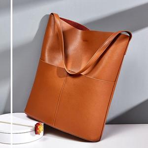Grand sac à bandoulière Sac de mode Femmes 2021 Nouveau Sac à main de Sac à main de Cowhide de Cowhide de style européen et américain