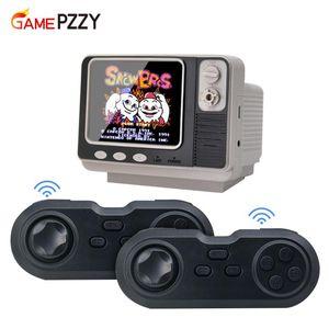 Mini Retro TV Oyun Konsolu El 2 Wireless Kontrolörleri Dahili 108 Farklı Games NES AV Out For