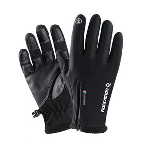 Winter Touchscreen Gloves Full Finger Windproof Waterproof Skin Friendly Outdoor Sports Cycling Sking Fishing Warm Equipment