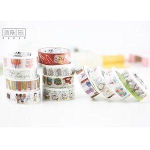 2016 m7M Cartoon Young Series Washi Tape Diy Decoration Scrapbooking Planner Masking Tape Adhesive Tape Label Sticker Stationery h