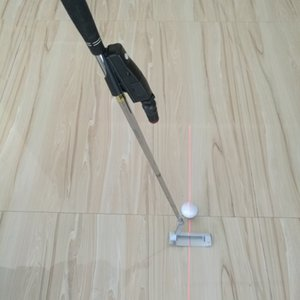 Golf Putter Training Aim Line Corrector Improve Aid Tool Practice Laser Sight Pointer Putting Training Black Golf Accessories Q1201