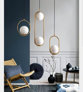 Nordic lamp creative personality bedroom bedside chandelier modern simple dining room lamp three end living room bar table lamp