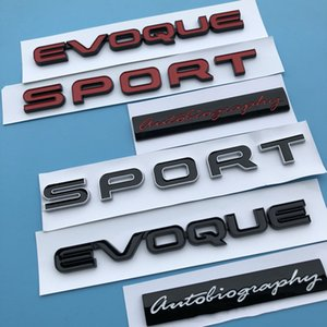 Sport Evoque Lettres Emblem Bar logo pour la gamme Land Range Rover SV Autobiographie Ultimate Edition Bar Badge Sticker de carré