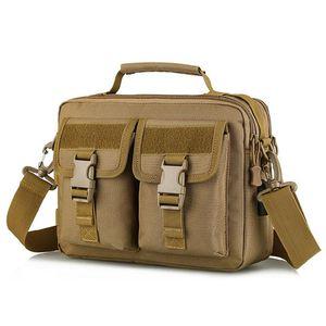 USB Tactical Shoulder Bag Army Molle Backpack Camo Camping Hiking Hunting Outdoor Sling Bag Messenger