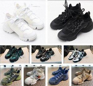 2020 neue designer luxus schuhe sneaker neueste mode frauen männer schuh neopren grosgrain ribbon d- verbindung schuhe gummisohle lässig 68f3 #
